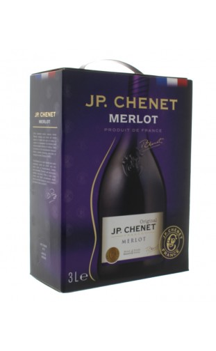 J.P.CHENET MERLOT WINE BOX