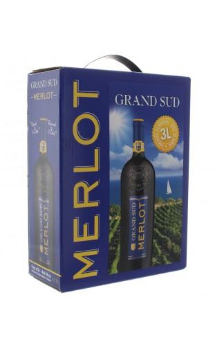 GRAND SUD MERLOT WINE BOX