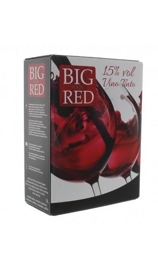 BIG RED VINO TINTO WINE BOX