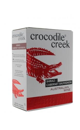 CROCODILE CREEK SHIRAZ CABERNET SAUVIGNON WINE BOX